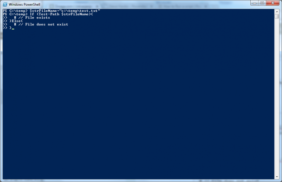 powershell how to delete a folder