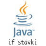 Java osnove: if stavki